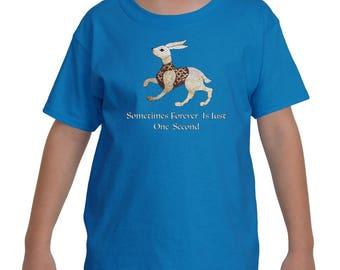 The White Rabbit Kids T-Shirt by The Arabesque
