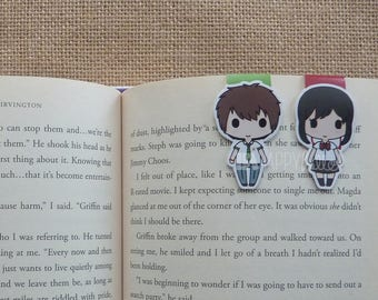 Magnetic Bookmarks • The Two Strangers