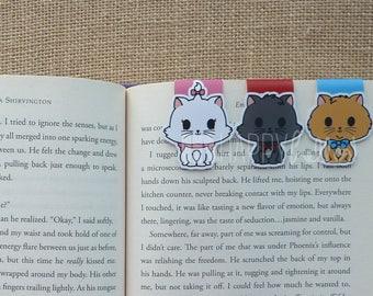 Magnetic Bookmarks • Upper Class Kittens