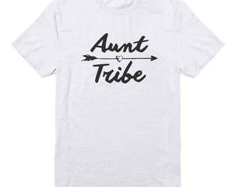 Aunt Tribe Shirt Teen Funny Tees Fashion Teenage Gifts Tumblr Quote Shirt Graphic Teen Shirt Unisex Tshirt Men Tshirt Women