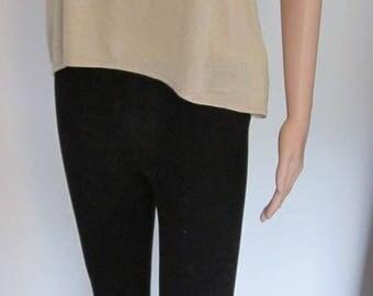 Women's black winter leggings