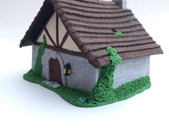 Medieval House for Holding Small Items