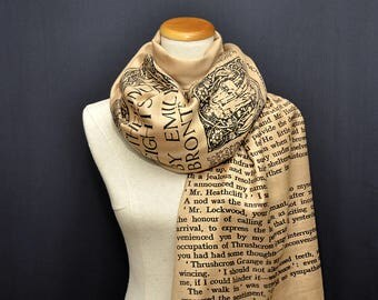 Wuthering Heights by Emily Brontë  Scarf/Shawl