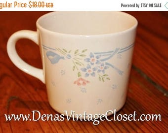 20% Off Sale Vintage Corelle Symphony Coffee  Mugs Cups Lot of 4