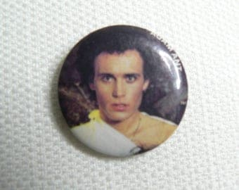 Vintage 80s Adam Ant - Adam and the Ants - Pin / Button / Badge
