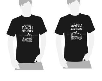 We Finish Each Others Sandwiches - Frozen Inspired - Adult T-Shirts