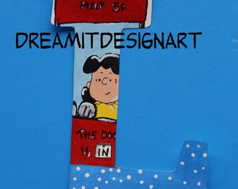 Peanuts Alphabet Letter L