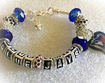 TORONTO BLUE JAYS inspired jewelry bracelets, necklaces