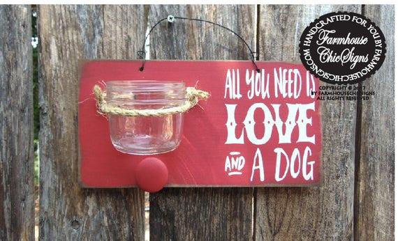 dog treat holder, gift for dog owner, leash holder, leash hook, dog treat jar, treat canister, dog, dog owner sign, treat leash holder