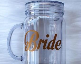 Mason Jar - Bride