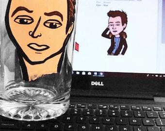 Caricature Beer Steins - Groomsman - Best Man - Birthday - Bachelor Party - Charicature Beer Mugs - Custom Beer Steins