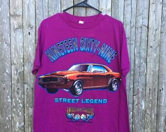Vintage 1969 camaro shirt