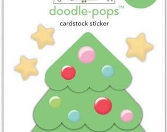 Bundle christmas cake doodle pop & christmas tree