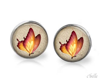 Earrings Butterfly 9