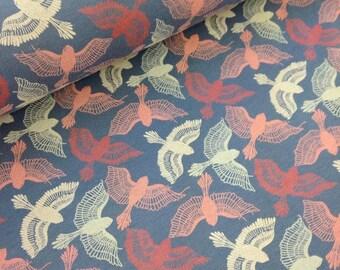 Swallows - C-Pauli - Organic Cotton Double knit UK Seller