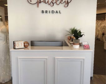 Salon pictures and decor