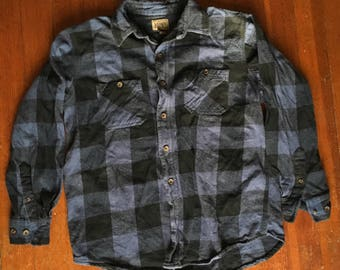 Blue Flannel Size Large