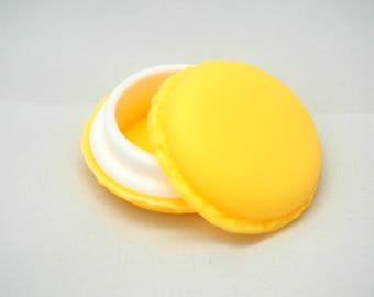 Yellow button for decoration or 42mm packaging box