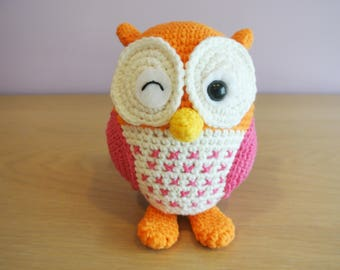 Stuffed Owl Etsy