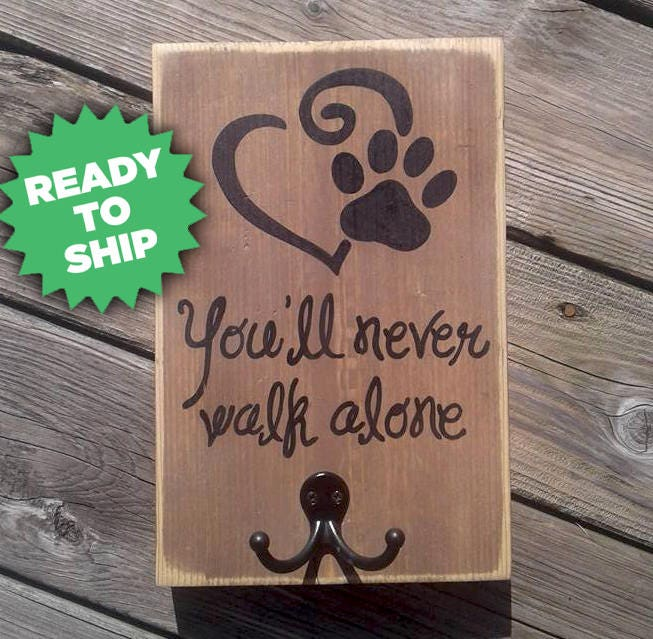 You Ll Never Walk Alone With A Dog