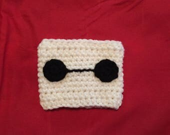 Baymax inspired cup cozy