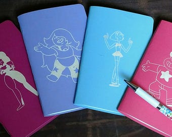 Steven Universe Themed Pocket Notebooks