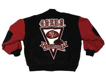 Vintage San Francisco 49ers Letterman Jacket