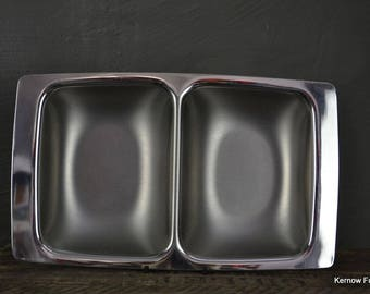 Polished Steel Serving Dish