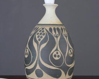 Robert Tarling Pottery Lamp