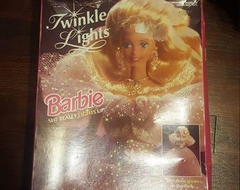 Twinkle Lights Barbie Mattel