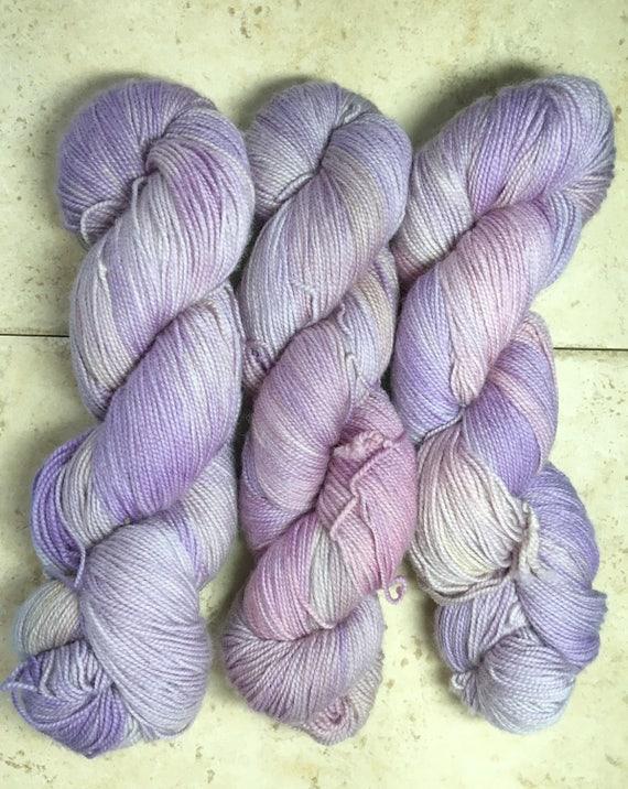 Hand Dyed Yarn, Grindylow yarn, Fingering Weight,2 ply,75/20/5 Superwash Merino/Nylon/Stellina mix,100 grams,indie dyed yarn,knit & crochet