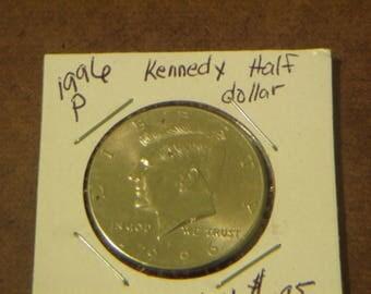 BU 1996 P Kennedy Half Dollar