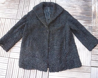 Victorian Astrakhan jacket/coats