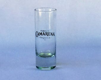 Camarena Familia Tequila Shot Glass Tall 2 Ounces