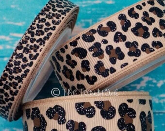 "The Sassy Leopard | Designer 1/2"" Width Dog Collar | CupcakePups Collars | Small Dog Collar"