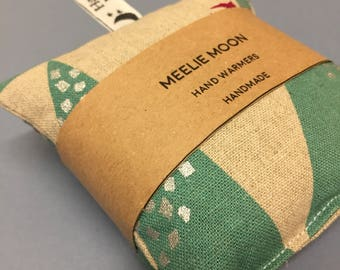 Hand Warmers - Mountain fabric Hand warmers - Microwaveable - Fabric Wheat & Lavender Hand warmers. Re-useable, natural, eco-friendly.
