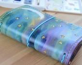 All Sizes Starry Sky Rainbow Fauxdori Midori Travelers Notebook Planner A4 A5 A6 B6 Slim Cahier Pocket Regular Standard Personal Passport A7