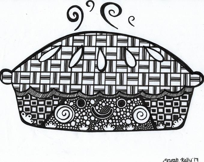 Pie Drawing