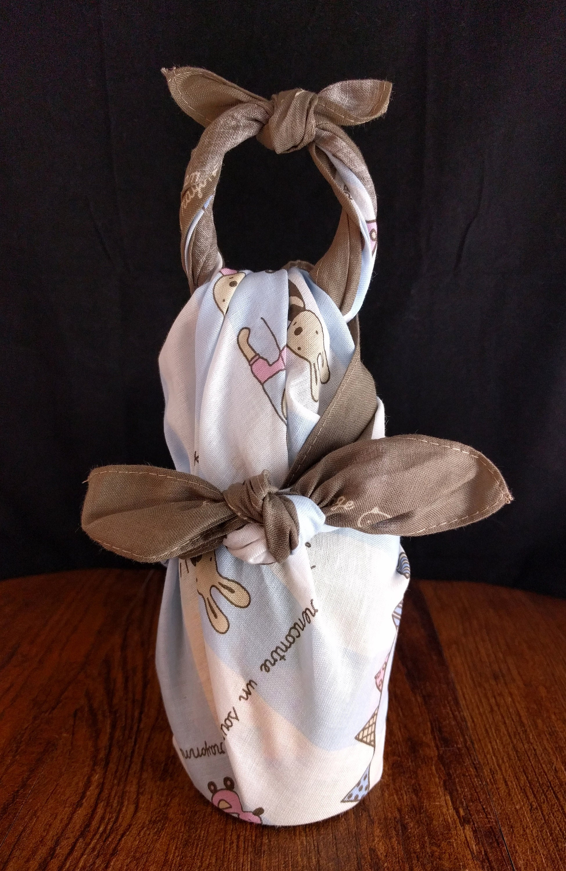 furoshiki one bottle wrap