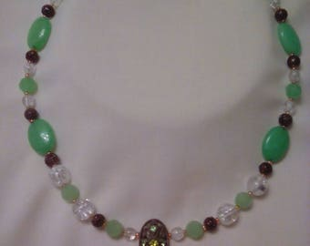 Peridot Focal Necklace