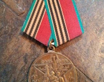 WWII Russian Commemorative Badge