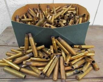 16 Brass Casings, Empty Brass Bullet Casings, Winchester