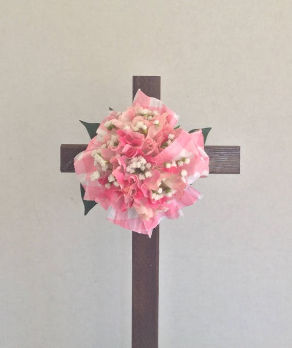 Cemetery flowers , Cemetery Cross, Grave flowers, Roadside Memorial, Grave Marker, Memorial Cross,