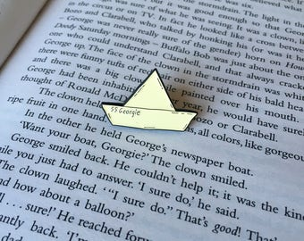 SS Georgie - Stephen King's IT - Enamel Pin Badge