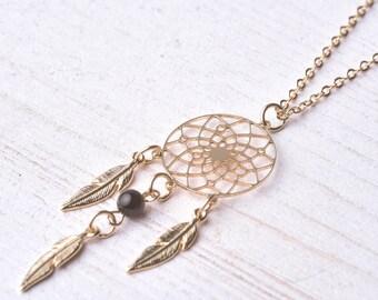 Men's Necklace - Men's Gold Necklace - Men's Beaded Necklace - Men's Jewelry - Men's Gift - Boyfriend Gift - Husband Gift - Present For Men