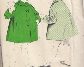 Maudella 1227 Winter Coat Sewing Pattern Ages 5 & 6 Years   - New never been used
