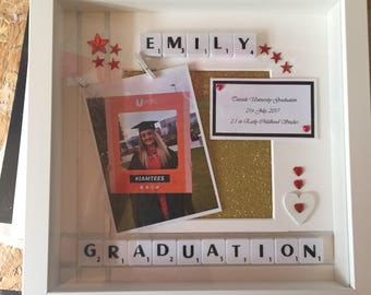 Personalised Graduation keepsake gift