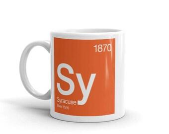 Syracuse Periodic Table Mug