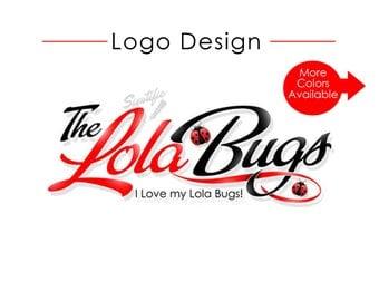 Custom Logo Design, Logo with Lady Bug, Business Branding, Boutique Logo, Fashion Logo Design, Couture Logo, Online Store Logo, Website Logo