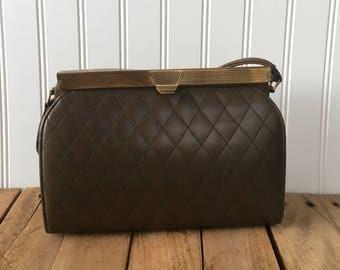 Vintage Mid Century Meyers USA Hand Bag